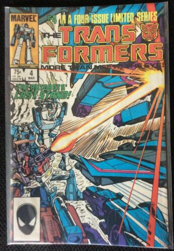 The Transformers #4 Lot of 10 (Mar 1985, Marvel)