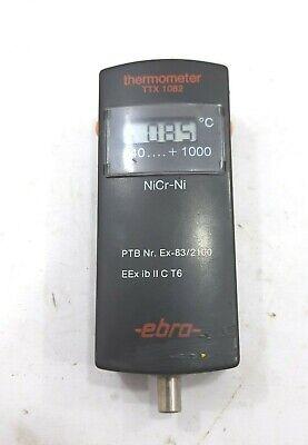 Ebro Ttx 1082 Thermometer Digital Precision Laboratory -40 C To 1000 C Nicr-ni