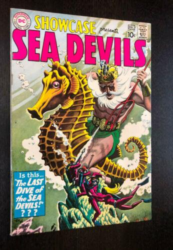 SHOWCASE #29 (DC 1960) -- 3rd Appearance SEA DEVILS -- Beautiful VF-
