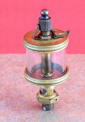 Hit Miss Gas Steam Engine Cylinder Brass Oiler