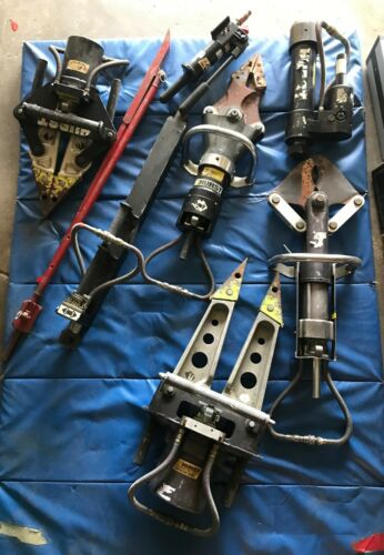 8 pcs Hurst Jaws for Life set....around 400 lbs...priced to sell!