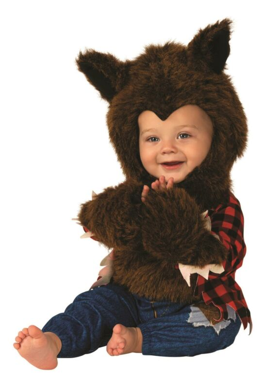 Werewolf Baby Jumpsuit Costume Toddler 1-2