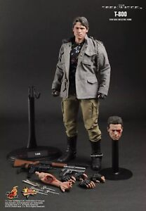 SIDESHOW HOT TOYS THE TERMINATOR RARE! 1/6 SCALE FREE SHIPPING