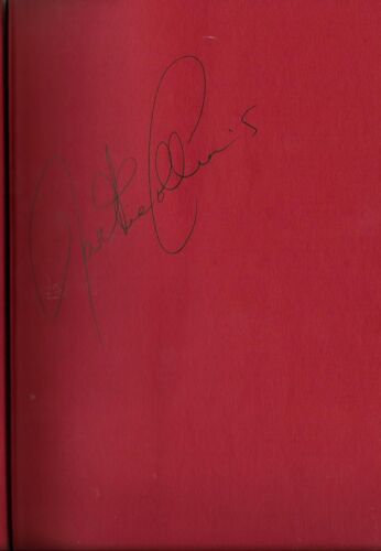JACKIE COLLINS RARE LADY BOSS SIGNED BOOK