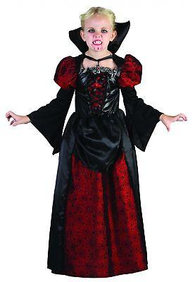 Vampir-Kostüm Halloween für Mädchen Cod.202851 ()