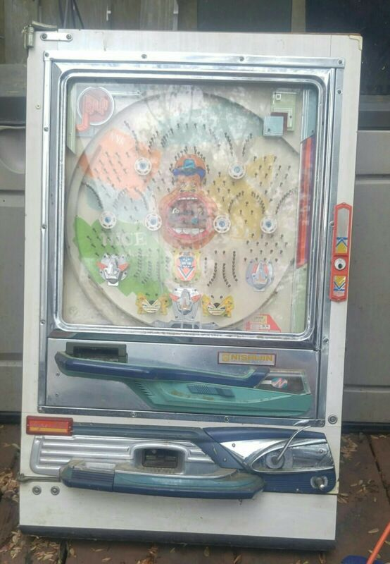 Vintage Nishijin Shiroi Malone Super DX Pachinko Pinball Machine Not Working