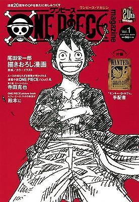 ONE PIECE magazine Vol.1 w/Poster Eiichiro Oda Comic Magazine