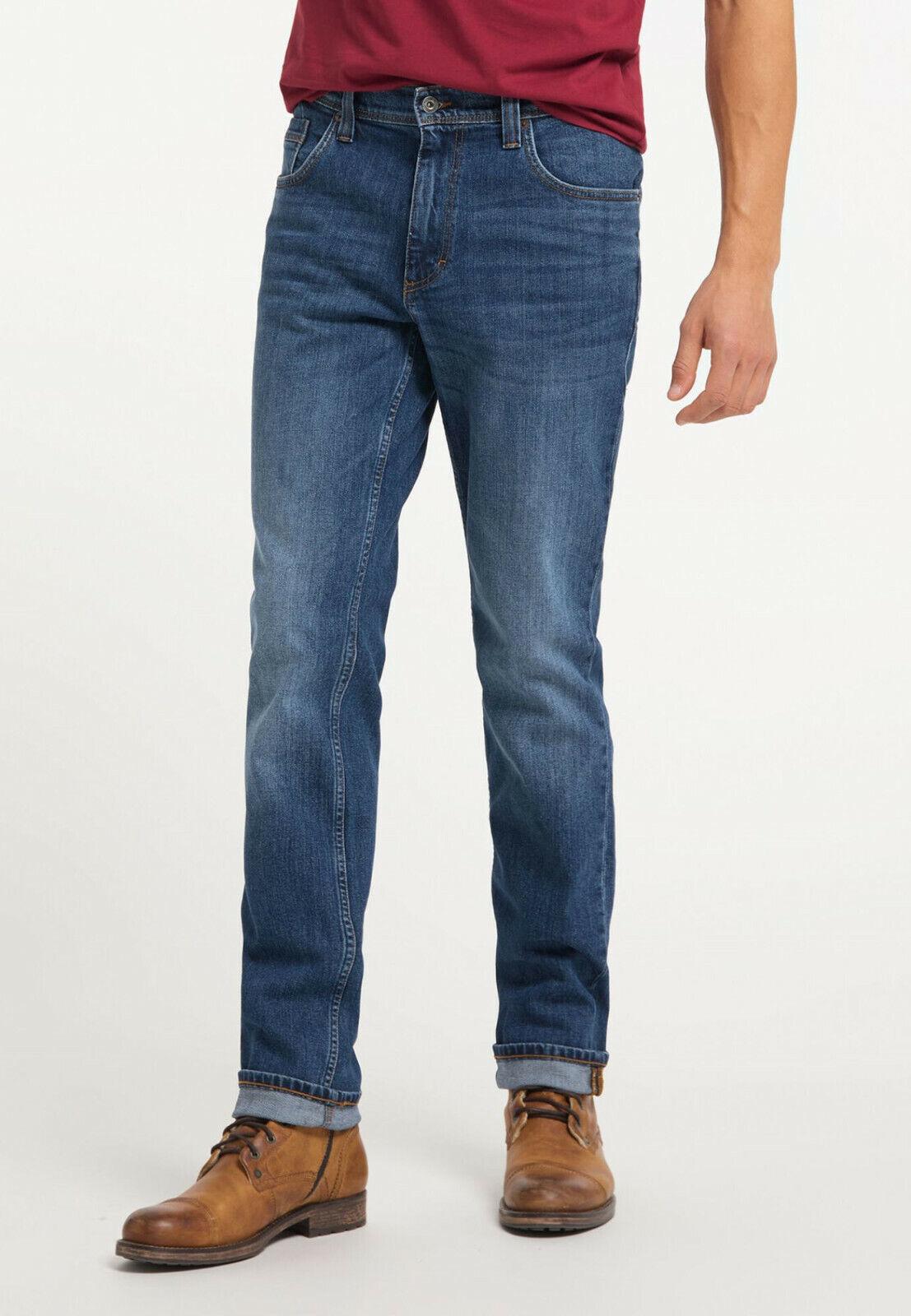 Mustang Washington Medium Rise Herren Jeans / Used-Finish / Elasthan