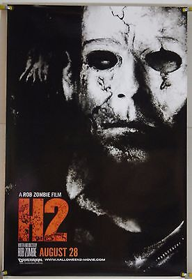 H2 HALLOWEEN 2 DS ROLLED ADV ORIG 1SH MOVIE POSTER ROB ZOMBIE HORROR (2009)](Rob Zombie Halloween 2 Poster)