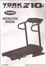Treadmill Motorised York Z10i ....only used twice Sylvania Sutherland Area Preview