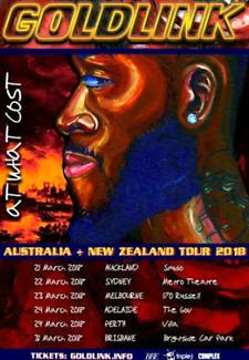 WTB Goldlink Melbourne 28th Tickets