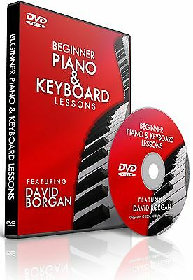 Beginner Piano & Keyboard Video DVD Lessons - Learn How to Play with 15 Songs!