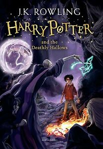 J.K. Rowling-Harry Potter and the Deathly Hallows  Paperback BOOK NEW