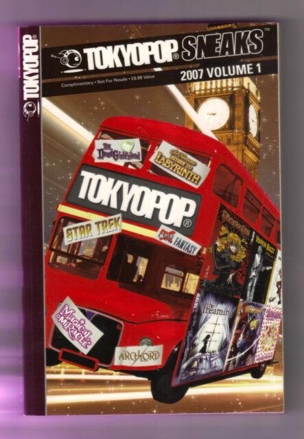 Tokyopop Sneak: 2007: v. 1 by Tokyopop Press Inc (Paperback, 2007)