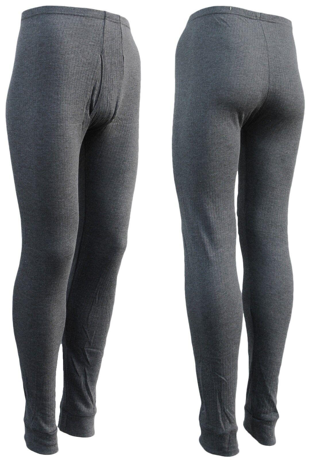 lange Arbeits-Unterhosen Herren - lange Thermounterhosen für Männer 2er Set  5-9