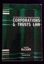 Corporations & Trust Law 2th edition, Penelope McCann Ringwood Maroondah Area Preview