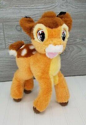 """Vintage Mattel Walt Disney 1992 Bambi Deer 12"""" Plush Soft Toy Stuffed Animal"""