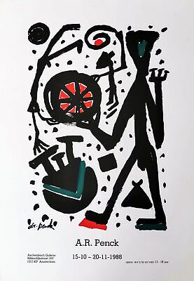 A.R. Penck: Galerie Aschenbach, 1988