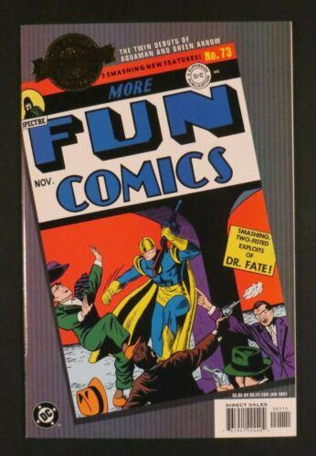 DC Millennium Edition MORE FUN COMICS 73 NM- 1st Aquaman Green Arrow And Speedy