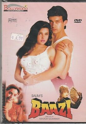 Baazi - aamir Khan , mamta Kulkarni   [Dvd]  1st Edition for sale  Shipping to India