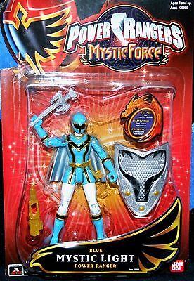 Power Rangers Mystic Force Blue Mystic W Light Up Shield New Factory Sealed 2006 - Blue Mystic Ranger