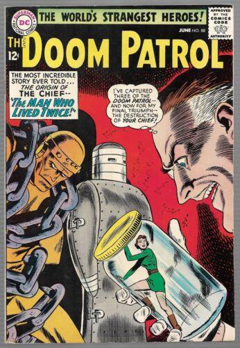 Doom Patrol #88 (DC 1964 - Silver Age) Origin of the Chief - Nice Copy! HD Scans