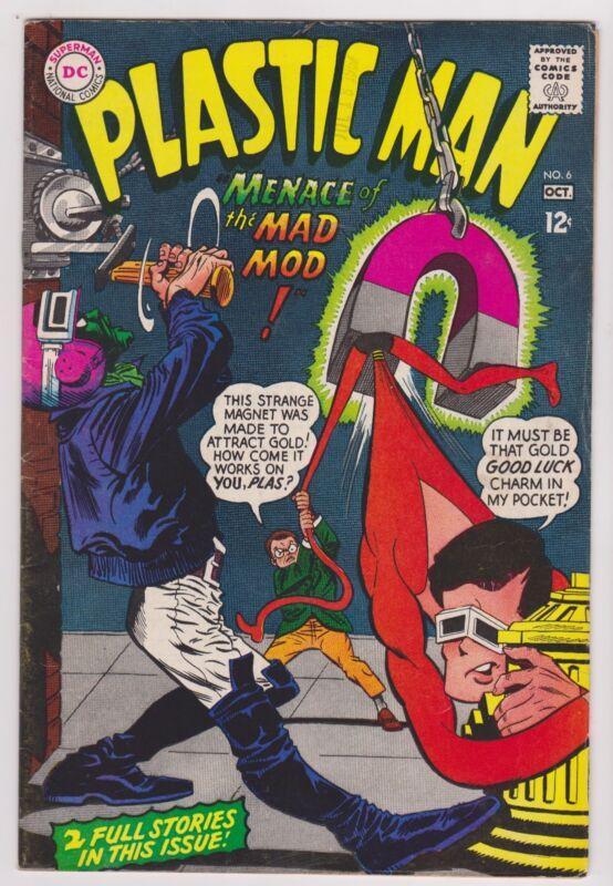 Plastic Man #6, Very Fine Condition!