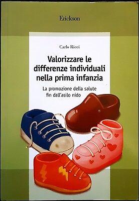 Carlo Ricci, Valorizzare le differenze individuali nella..., Ed. Erickson, 2005