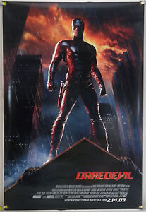 DAREDEVIL DS ROLLED ADV ORIG 1SH MOVIE POSTER BEN AFFLECK JENNIFER GARNER (2003)