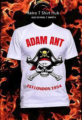 Adams Vintage Rock (ADAM ANT EST1954 Retro Vintage Classic Men's & Women's ROCK n ROLL TOUR T SHIRT )