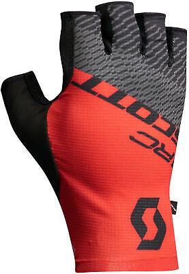 Scott RC Pro Fingerless Cycling Gloves Red Black Bike Cycle BMX MTB Black Womens Bike Glove