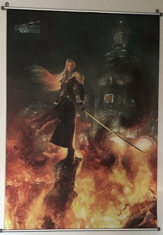 Square Enix Final Fantasy VII 7 REMAKE Wall Scroll Poster Vol. 2 Sephiroth