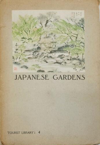 Japanese Gardens Tourist Library : 4 Tatsui, Japan Travel Bureau, 1936