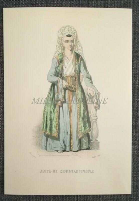 ISRAEL MUSEUM JERUSALEM - Juive de Constantinople, Card