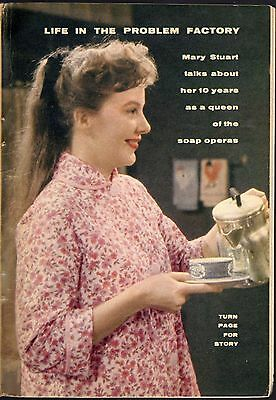 1960 TV ARTICLE~MARY STUART~QUEEN of the SOAP OPERA'S~SEARCH FOR TOMORROW