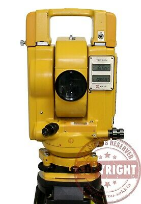 Topcon Et-1 Surveying Total Stationtopcontrimblesokkianikontransit