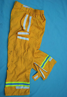 Pia Firefighter Wildland Overpants Wreflector Stripes Various Sizes