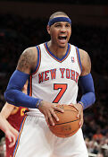 Carmelo Anthony Knicks Poster
