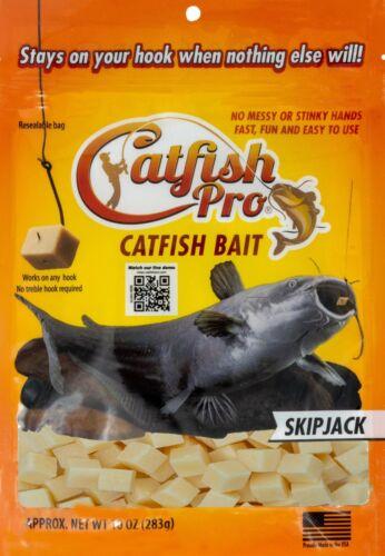Catfish Pro SKIPJACK Catfish Bait Catch Blue Channel Bullhead even Flathead Cats