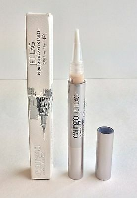 Cargo Cosmetics ~ Jet Lag Concealer .06 fl oz / 2 ml ~ 01 light ~ New in Box!  (01 Cargo Box)