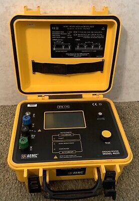 Aemc Instruments Ground Tester Model 4620