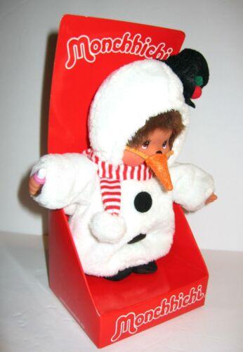 2011 SEKIGUCHI Monchhichi Christmas Snowman Thumb Sucking Monkey