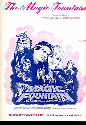 "THE MAGIC FOUNTAIN Sheet Music ""The Magic Fountain"" Peter Nestler"