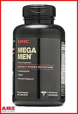 Gnc Mega Men Multivitamin  180 Caplets