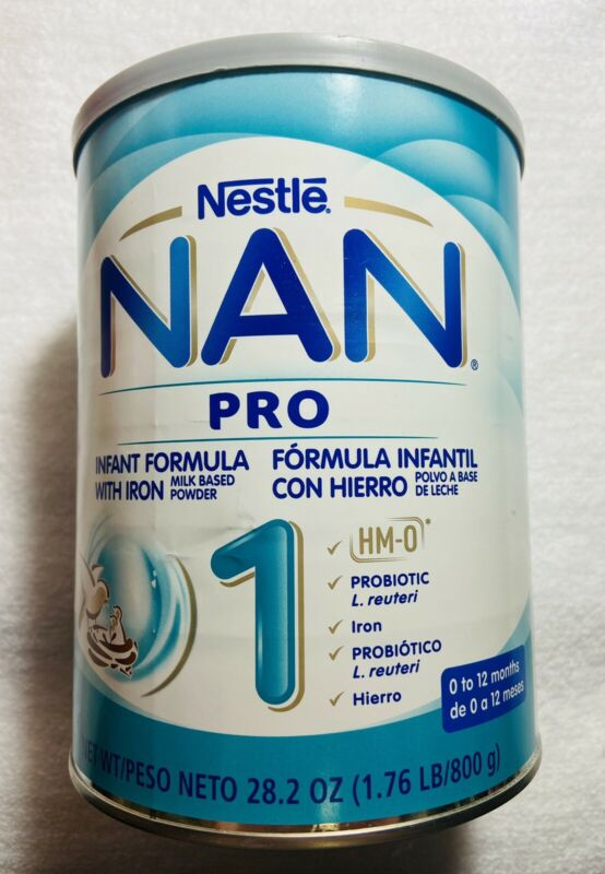Nestle NAN Pro Infant Formula With Iron 28.2 Oz