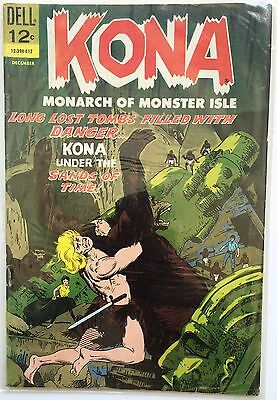 VINTAGE KONA #20 DECEMBER SILVER AGE DELL COMIC BOOK ~ VF+ CONDITION