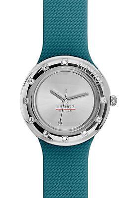 Orologio HIP HOP donna METAL, cinturino in silicone e metallo, SOLO TEMPO - 3H