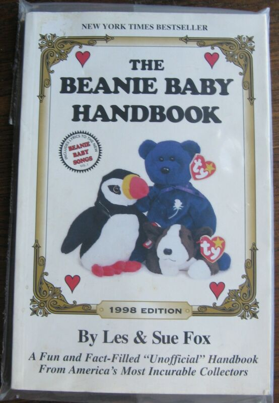 "1998 ""The Beanie Baby Handbook"" by Les & Sue Fox, 215 pages Colorful Pictures"