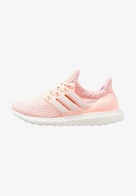 Adidas Womens Ultra Boost Trainers - Clear Orange, Orchid & Pink - F36126 UK 7.5