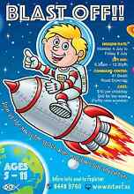 OUTER SPACE ADVENTURE - KIDS HOLIDAY CLUB Duncraig Joondalup Area Preview